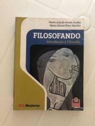 Livro - Filosofando: Introdução à Filosofia - Aranha e Martins