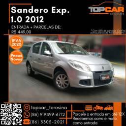Sandero 1.0 2012