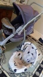 Vendo carrinho de bebe e bebe conforto