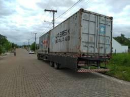 Container marítimo, região oeste SC e norte RS