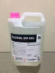 Álcool em gel 70% 5L