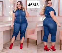 Roupas PLUS SIZE no jeans GG50/52