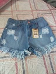 Vendo shorte jeans