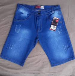 Bermuda jeans do 36 ao 46