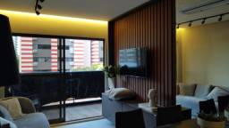 Apt. 2 quartos novo no Cabo Branco com tecnologia e conforto