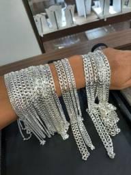 Troco pratas novas 925