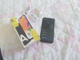 Samsung A01 32gb novo 10 dias de comprado