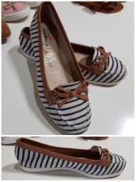 Lote de calçados femininos