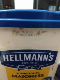 Vendo Pote de maionese Hellmann's 3kg