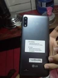 Vendo esse celular LG K22 tá com três semanas de uso