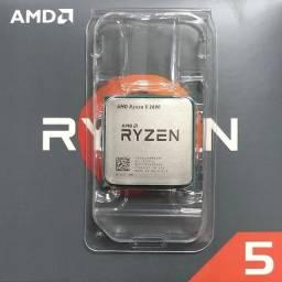 Processador Ryzen 5 2600, produto novo sem caixa e sem cooler!
