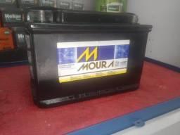 Bateria 75 Amperes Moura ( seminova)