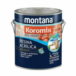 Resina Acrilica Base de Agua 3.6 incolor Montana
