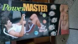 Aparelho de ginástica power master (focado em abdominal)