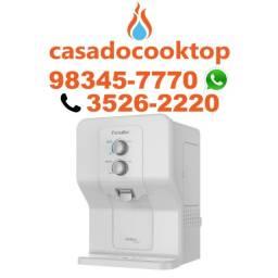 Purificador De Água De Mesa Esmaltec Acqua Com Compressor Branco 220V