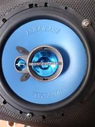 """Alto falante 6"""" hurricane novo com garantia instalado em seu carro"""