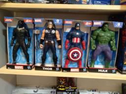 Boneco Homem amanhã, Capitão América e outros ORIGINAL Hasbro