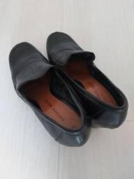 Sapato social de couro