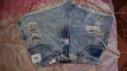 Vendo short Jeans NOVO