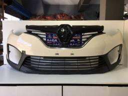 Parachoque Dianteiro + Grade Renault Captur 2017 2018 2019 Original