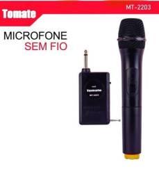 Microfone sem fio Mt-2203 metal