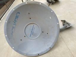 Duas Antenas Parabólicas Aquário c/ Rádio Ubiquiti AirMAX Rocket M5