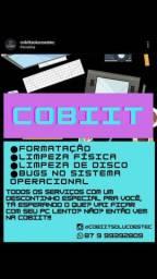 FORMATAÇÃO DE COMPUTADORES