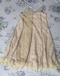 Vestido Renda Marca Vapor's Artezanale