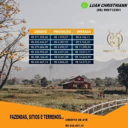 Fazendas, sítios e terrenos