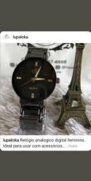 Relógio feminino analógico
