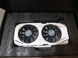 GTX 1060 Dual 6GB, Placa de Vídeo Asus Nvidia GeForce GDDR5 - DUAL-GTX1060-O6G