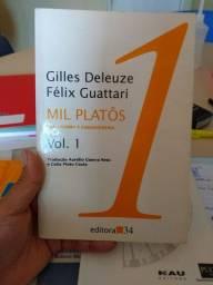 Mil platos volume 1 Gilles Deleuze e Félix Guatarri