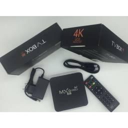 Conversor Tv Box Ott Smart tv Android 4k Ultra Hd Netflix Youtube Facebook