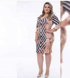 Vestido Feminino Plus Size - Liquidação