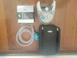 CPAP Elite S9 com pressão fixa, sem fonte 800 reais/Umidificador S8, 400 reais