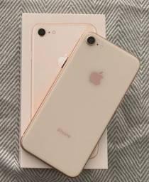 iPhone 8 64gb Gold - Perfeito Estado