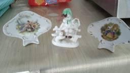 Porcelanas em perfeito estado.