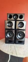 Caixas de som da Sony modelo M3 HT
