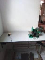 Máquina de costura overloque semi industrial usada