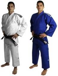 2 KimonoS Judo Adidas Training J500 Azul E Branco Adulto Unissex TAM 190
