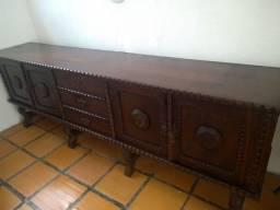 Balcão antigo madeira