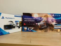 Playstation Vr Bundle Astro Bot V2 + Aim Controller + 4 jogos exclusivos