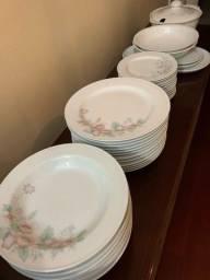 Aparelho de jantar porcelana Schmidt 41 peças