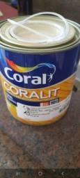 Tinta esmalte areia coralit