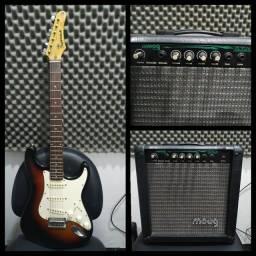 Guitarra Samik + Cubo Moog 30w