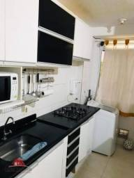 Apartamento com 2 dormitórios, 48 m² - venda por R$ 180.000 ou aluguel por R$ 900/mês - Ca