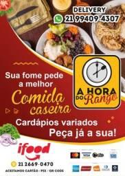 Título do anúncio: COMIDA CASEIRA ( QUENTINHA)