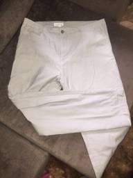 Vendo calça de sarja bege original calvin Klein nova