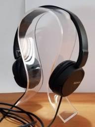 Usado Headphone Sony MDR-ZX110 Dobrável
