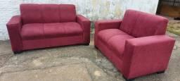 Título do anúncio: Sofa de 03 lugares e conjunto
